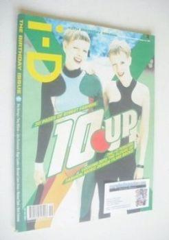 i-D magazine - 10 Up cover (September 1990 - Issue 84)