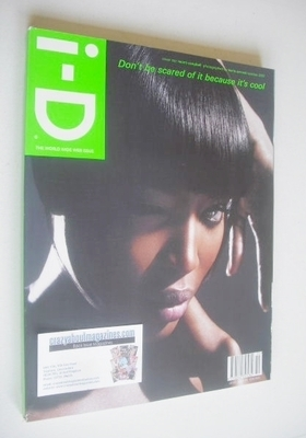 <!--2007-10-->i-D magazine - Naomi Campbell cover (October 2007)