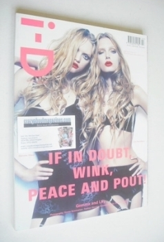 i-D magazine - Gemma Ward and Lily Donaldson cover (February 2008)