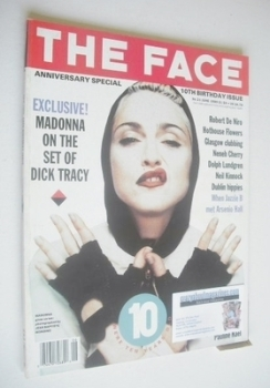 The Face magazine - Madonna cover (June 1990 - Volume 2 No. 21)