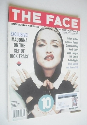 <!--1990-06-->The Face magazine - Madonna cover (June 1990 - Volume 2 No. 2