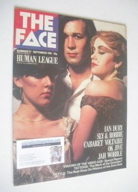 <!--1981-09-->The Face magazine - The Human League cover (September 1981 -