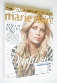 British Marie Claire magazine - September 2008 - Mischa Barton cover