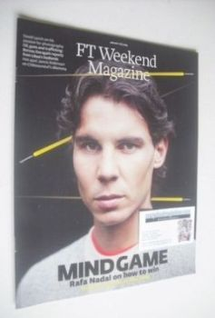 FT Weekend magazine - Rafael Nadal cover (11/12 January 2014)