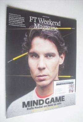 <!--2014-01-11-->FT Weekend magazine - Rafael Nadal cover (11/12 January 20