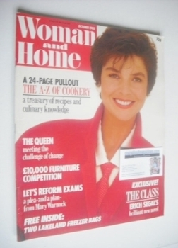 Woman & Home magazine - October 1985