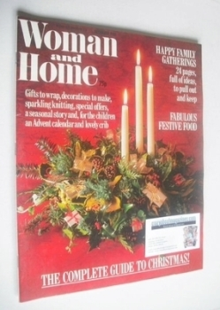 Woman & Home magazine - December 1985