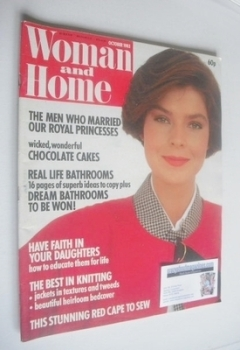 Woman & Home magazine - October 1983