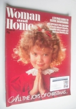Woman & Home magazine - December 1984