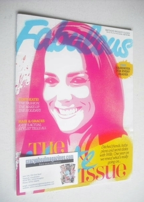 <!--2012-04-29-->Fabulous magazine - Kate Middleton cover (29 April 2012)