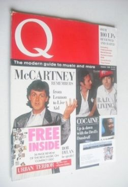 <!--1986-10-->Q magazine - Paul McCartney cover (October 1986 - 1st Issue)