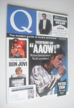 Q magazine - Michael Jackson cover (November 1987)