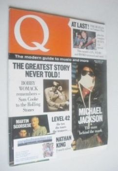 Q magazine - Michael Jackson cover (March 1987)