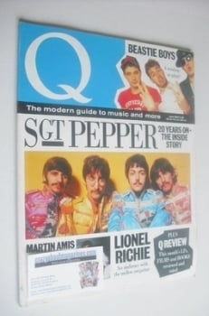 Q magazine - The Beatles cover (June 1987)