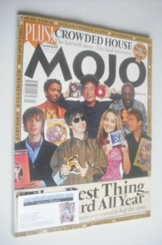 MOJO magazine - The Best Thing I've Heard All Year cover (January 1997 - Issue 38)