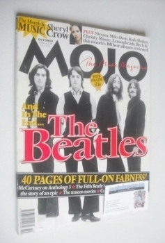 MOJO magazine - The Beatles cover (October 1996 - Issue 35)