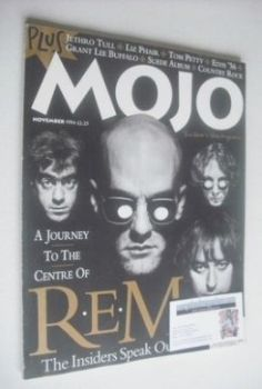 MOJO magazine - REM cover (November 1994 - Issue 12)