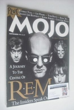 <!--1994-11-->MOJO magazine - REM cover (November 1994 - Issue 12)