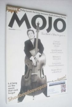 MOJO magazine - K D Lang cover (December 1993 - Issue 2)