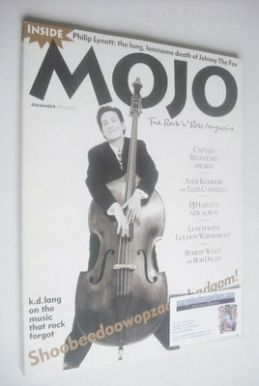 <!--1993-12-->MOJO magazine - K D Lang cover (December 1993 - Issue 2)