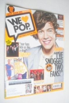 We Love Pop magazine - Harry Styles cover (9 November - 6 December 2011)
