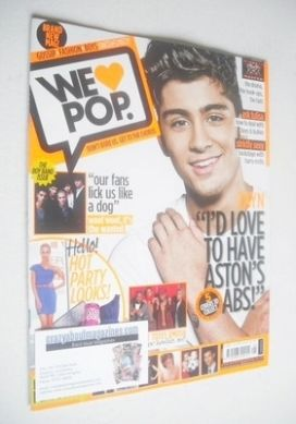 <!--2011-11-09-->We Love Pop magazine - Zayn Malik cover (9 November - 6 De