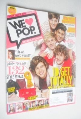 <!--2012-01-11-->We Love Pop magazine - One Direction cover (11 January - 7