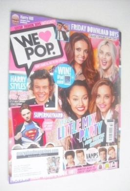 <!--2013-12-18-->We Love Pop magazine - Little Mix cover (18 December 2013