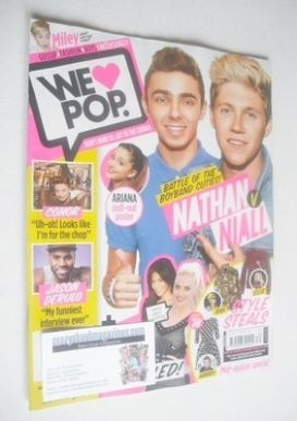 <!--2013-10-23-->We Love Pop magazine - Nathan and Niall cover (23 October