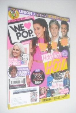 <!--2013-08-28-->We Love Pop magazine - Hot Hot Hot cover (28 August - 24 S