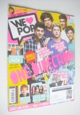 <!--2013-07-31-->We Love Pop magazine - One Direction cover (31 July - 27 A