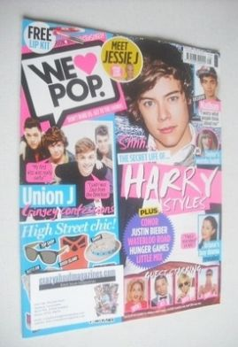 <!--2013-06-05-->We Love Pop magazine - Harry Styles cover (5 June - 2 July