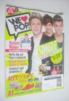 We Love Pop magazine - Niall, George and Justin cover (10 April - 7 May 2013)