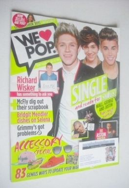 <!--2013-04-10-->We Love Pop magazine - Niall, George and Justin cover (10