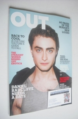 <!--2010-09-->Out magazine - Daniel Radcliffe cover (September 2010)
