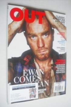Out magazine - Ewan McGregor cover (March 2010)