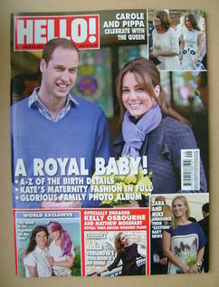 <!--2013-07-22-->Hello! magazine - Prince William and Kate Middleton cover