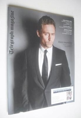 <!--2014-01-11-->Telegraph magazine - Tom Hiddleston cover (11 January 2014