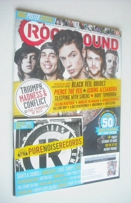 <!--2014-01-->Rock Sound magazine - The Stories of 2013 (January 2014)