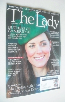 <!--2014-01-10-->The Lady magazine (10 January 2014 - Kate Middleton cover)