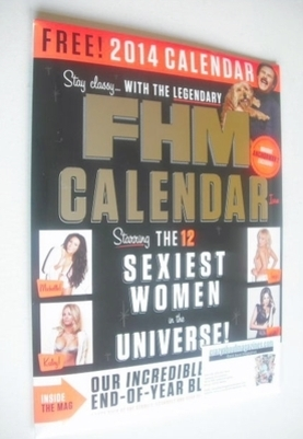 <!--2014-01-->FHM magazine (January 2014)