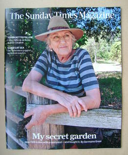 <!--2014-01-19-->The Sunday Times magazine - Germaine Greer cover (19 Janua