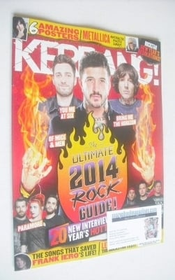 <!--2014-01-04-->Kerrang magazine - The Ultimate 2014 Rock Guide cover (4 J