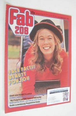 <!--1976-02-21-->Fabulous 208 magazine (21 February 1976)