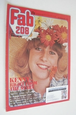 <!--1976-02-07-->Fabulous 208 magazine (7 February 1976)