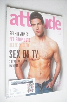 <!--2009-04-->Attitude magazine - Gethin Jones cover (April 2009)