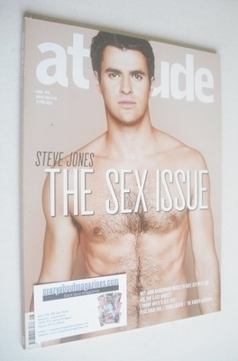 <!--2008-08-->Attitude magazine - Steve Jones cover (August 2008)