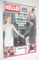<!--2001-02-20-->Hello! magazine - Tom Cruise and Nicole Kidman cover (20 February 2001 - Issue 650)