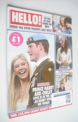 <!--2010-05-17-->Hello! magazine - Prince Harry and Chelsy Davy cover (17 M