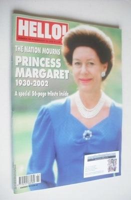 <!--2002-02-19-->Hello! magazine - Princess Margaret cover (19 February 200